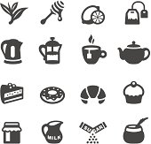 Mobico collection - Tea and Sweets icons.