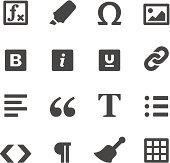 Mobico icons — Text editor