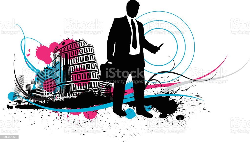 Mobil Communications royalty-free stock vector art