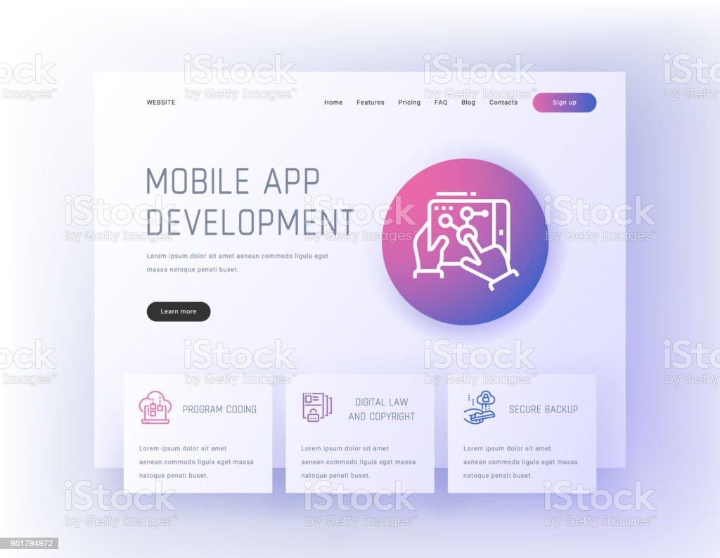 Mobile App Development Program Coding Digital Law And