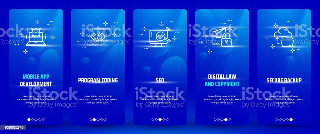 Mobile App Development Program Coding Seo Digital Law And
