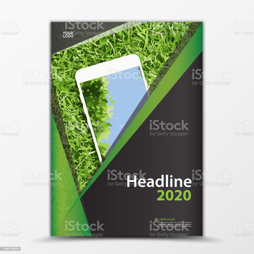 Mobile Apps Flyer Cover Design Smartphone Ad Annual Report Cover Pertaining To Mobile Book Report Template