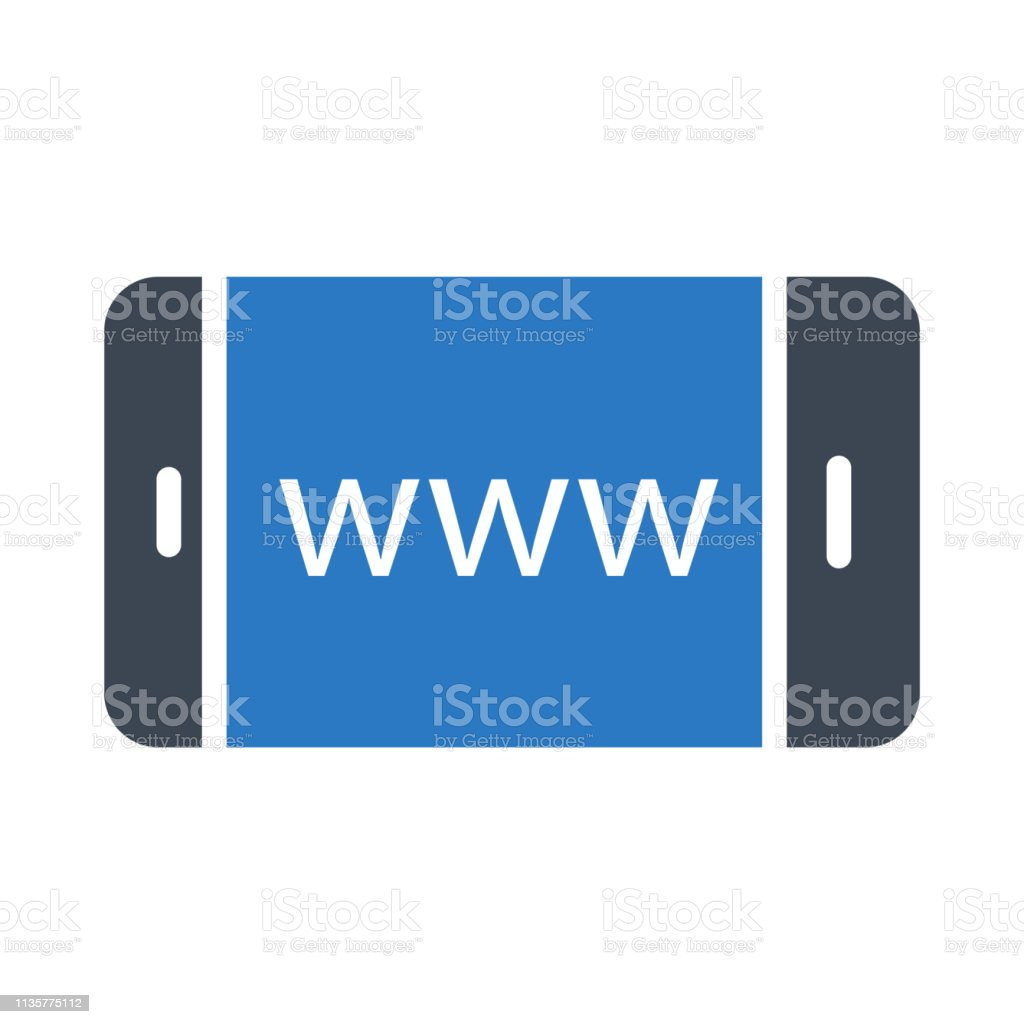 Mobile Browser Stock Illustration - Download Image Now - iStock
