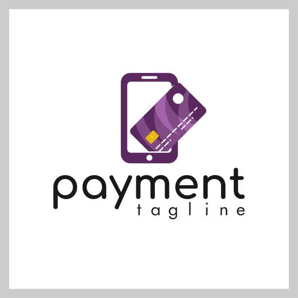 mobile card logo vector - credit card stock illustrations