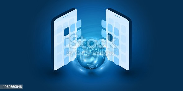 istock Mobile Communication Concept 1262660946