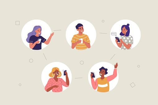 Mobile Communication - Stockowe grafiki wektorowe i więcej obrazów Aplikacja mobilna