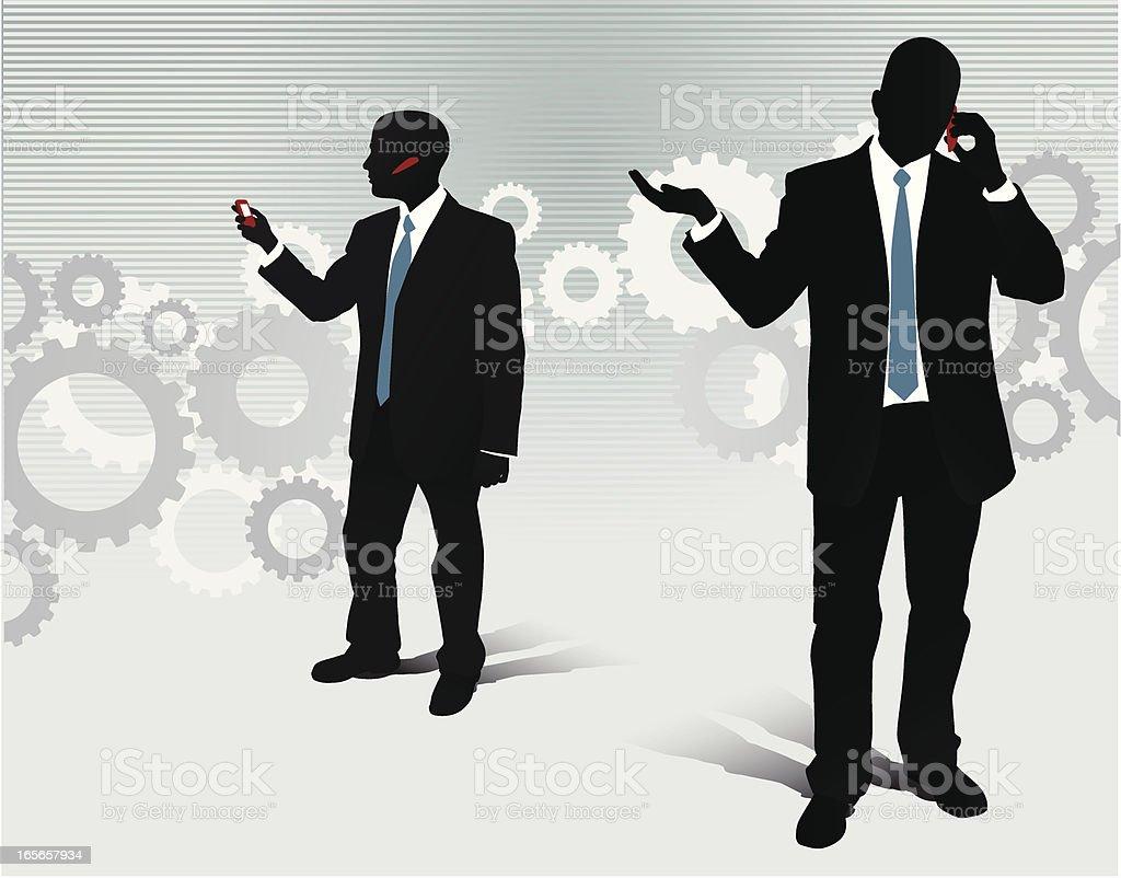 Mobile Communication royalty-free stock vector art