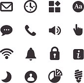 Mobile control Icons - Acme Series
