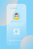 istock Mobile Covid-19 Vaccine Passport - VaxPass 1311168872