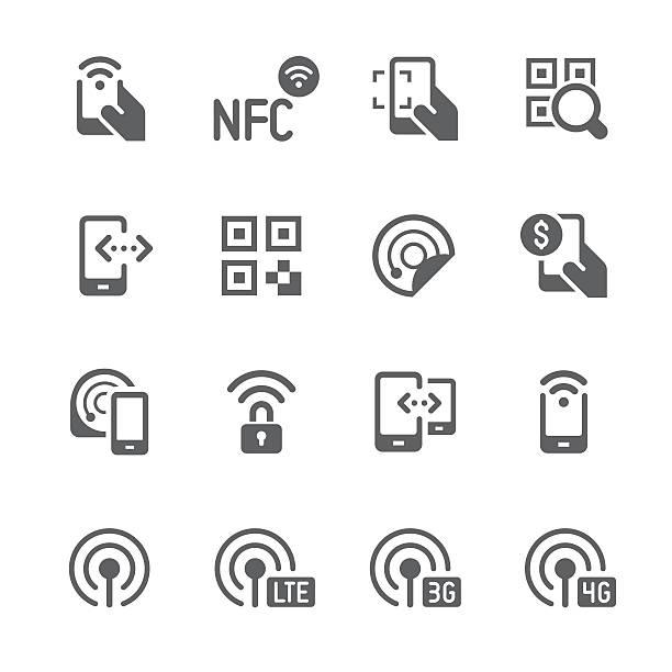 stockillustraties, clipart, cartoons en iconen met mobile data and payment processing | prime series - mobiele betaling