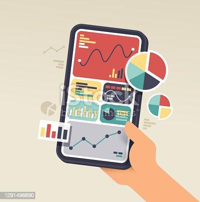 istock Mobile Device Data Statistics Phone 1291496890