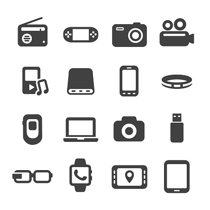 Mobile Devices Icon - Acme Series