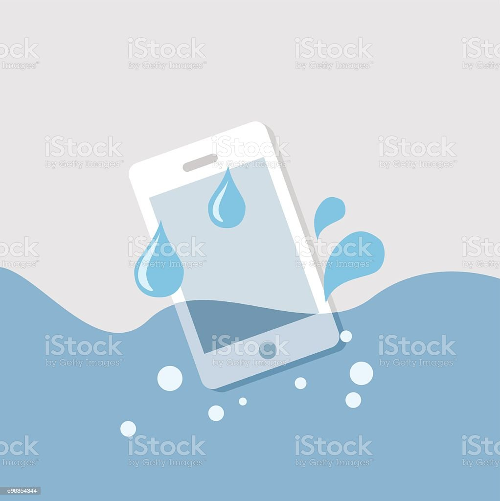 mobile in the water royalty-free mobile in the water stock vector art & more images of damaged