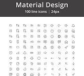 UI Mobile Line Icons