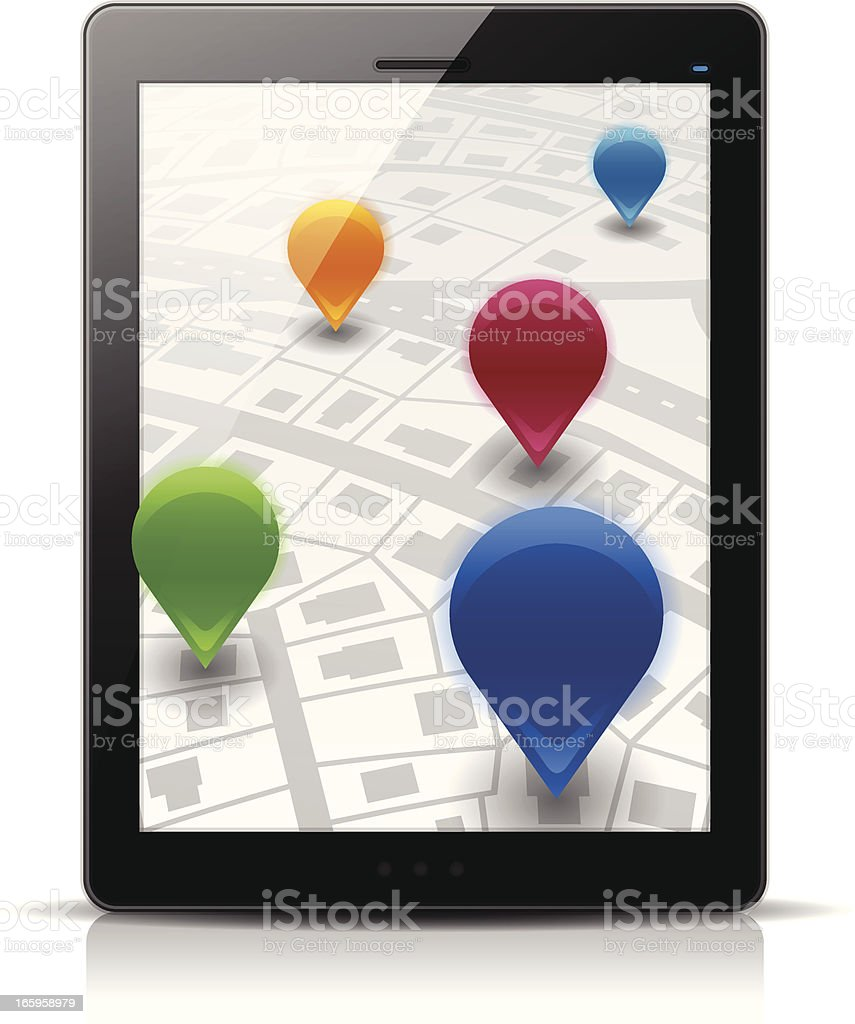 Mobile Locations royalty-free mobile locations stock vector art & more images of backgrounds