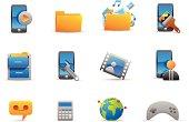 Mobile menu icons