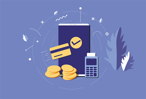 Mobile phone and credit card, money, living consumption, mobile consumption