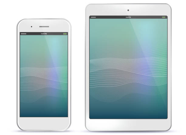 Téléphone mobile et tablette tactile - Illustration vectorielle