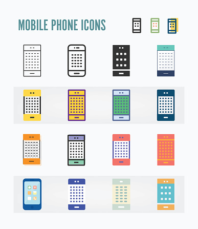 Mobile Phone Icon Packs