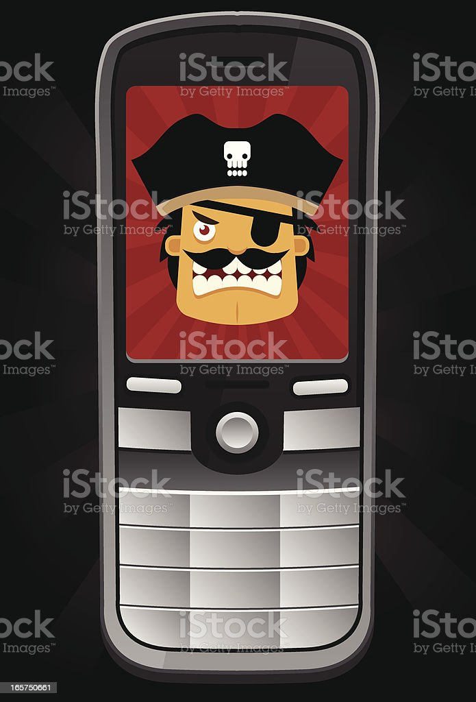 téléphone mobile pirate