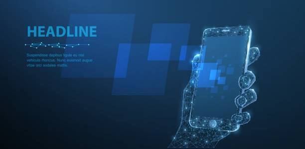 Mobile phone. vector art illustration