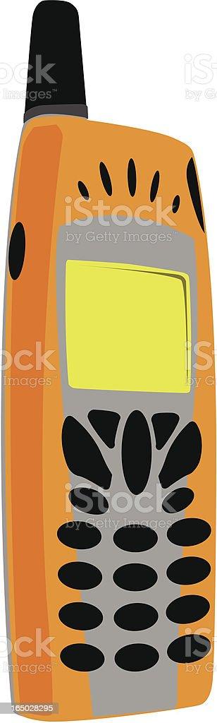 Mobile Phone royalty-free stock vector art