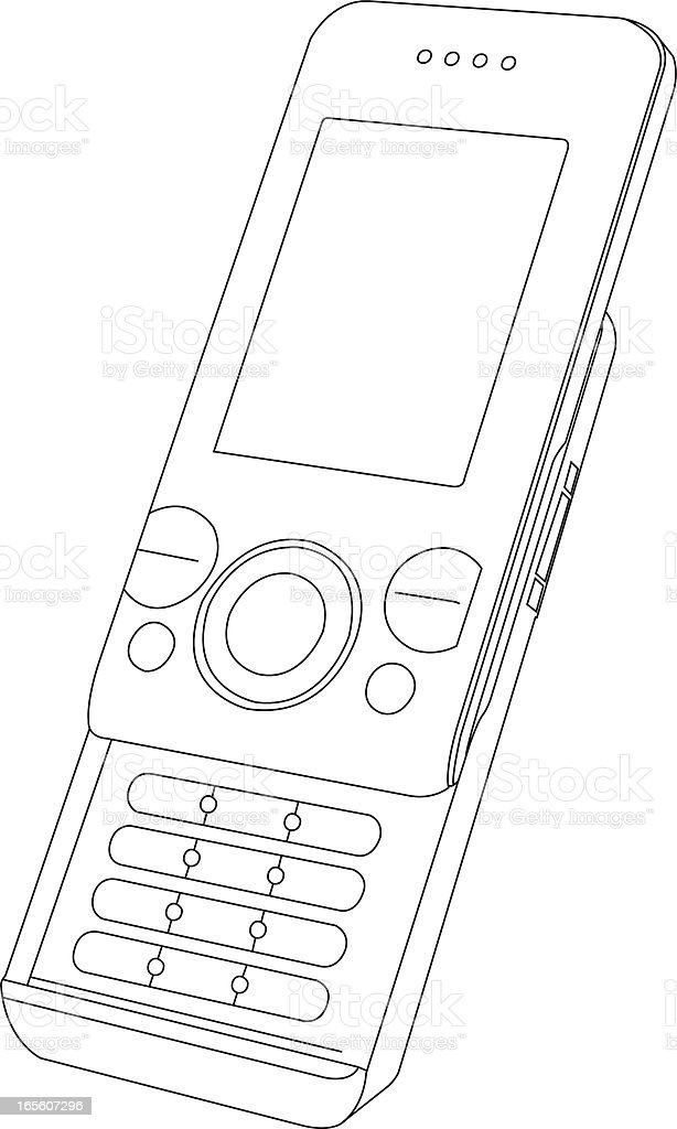 Mobile Phone royalty-free mobile phone stock vector art & more images of bluetooth