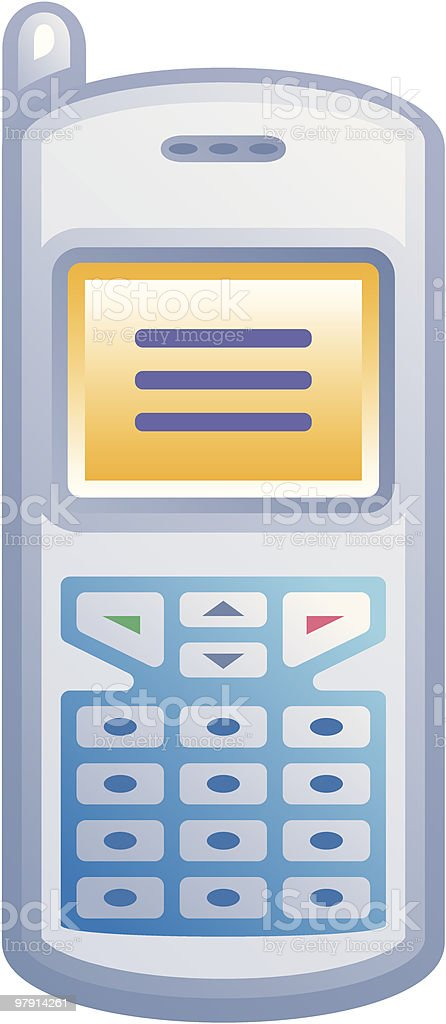 Mobile phone royalty-free mobile phone stock vector art & more images of antenna - aerial