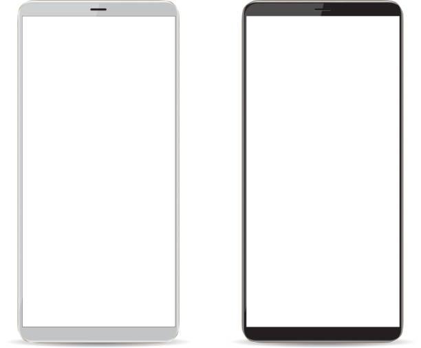 Handy mit leeren Bildschirm – Vektorgrafik