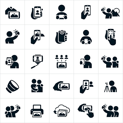 Mobile Photography Icons