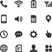 Mobile Setting Icons - Acme Series