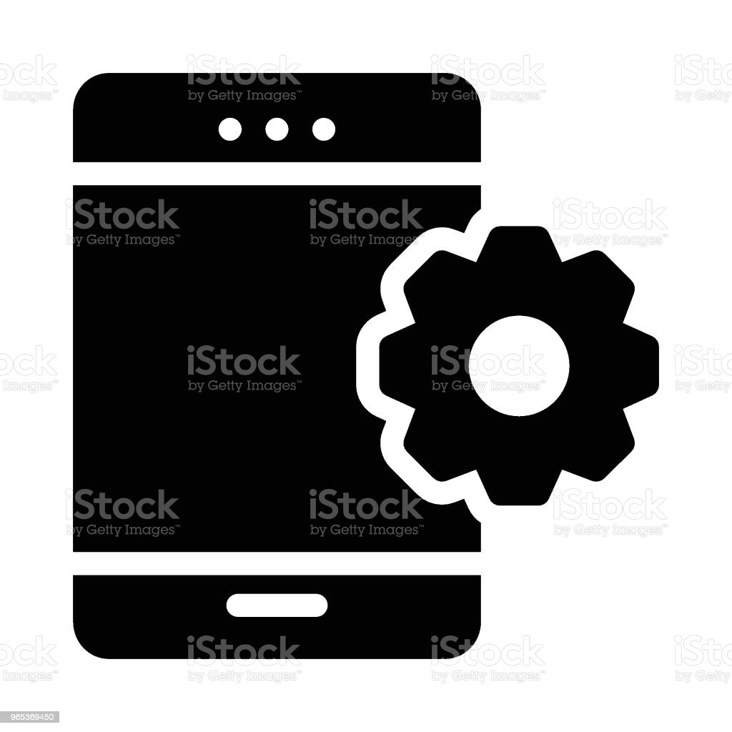 Mobile royalty-free mobile stock illustration - download image now