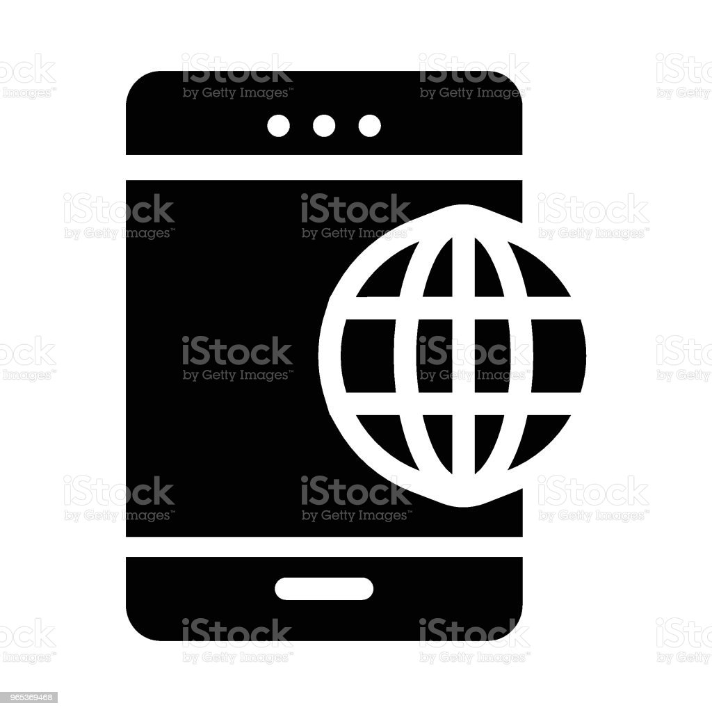 Mobile royalty-free mobile stock vector art & more images of art