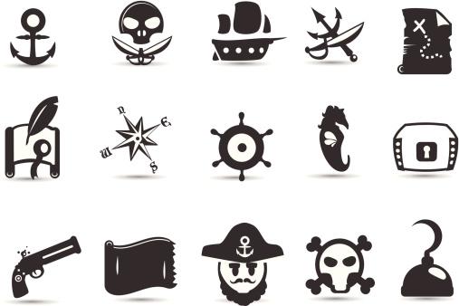 Mobilicious Pirate Icon Set