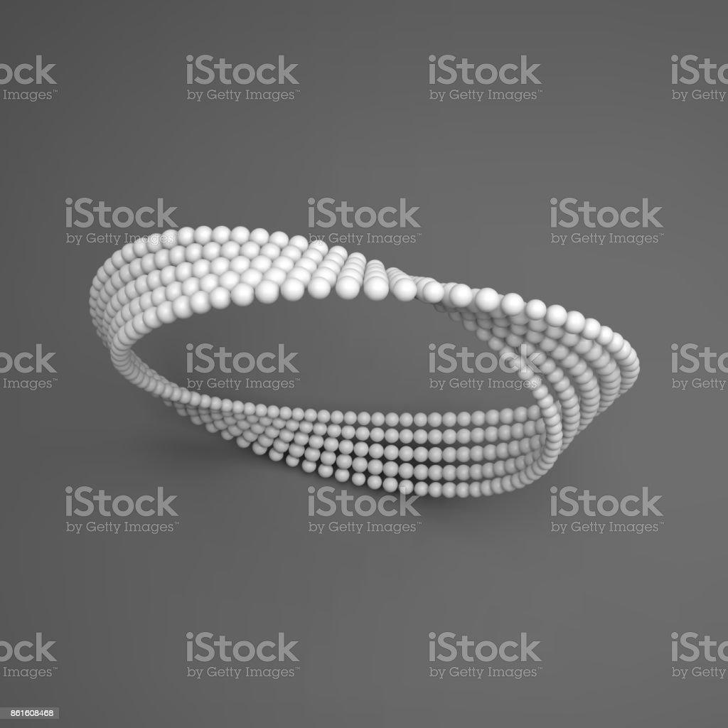 Möbiusband Variation Zeichen Der Unendlichkeit Klassische