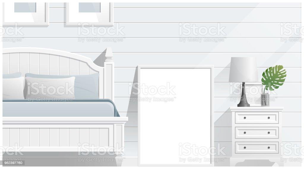 Ilustración de Simulacros De Fotograma De Póster En La Habitación ...