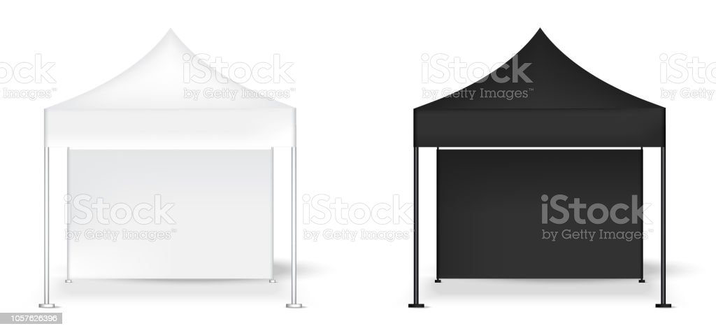 Exhibition Stall Mockup : 3d mock up realistic tent display wall pop booth for sale marketing