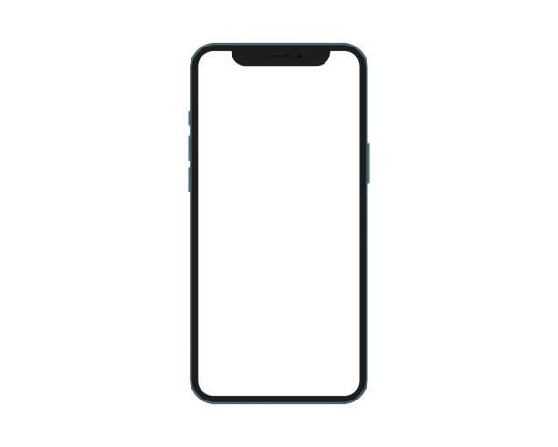 illustrazioni stock, clip art, cartoni animati e icone di tendenza di prendi in giro il telefono dello schermo. - smart phone