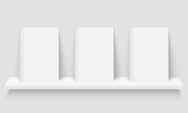 Mockup of books. vector art illustration