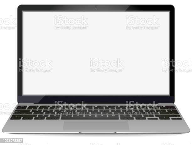 Mockup with blank screen front viewopen laptop with blank screen on vector id1078073392?b=1&k=6&m=1078073392&s=612x612&h=aosdbnfikskgnarbp kxl3nctj2zpoq7latwl37la4g=