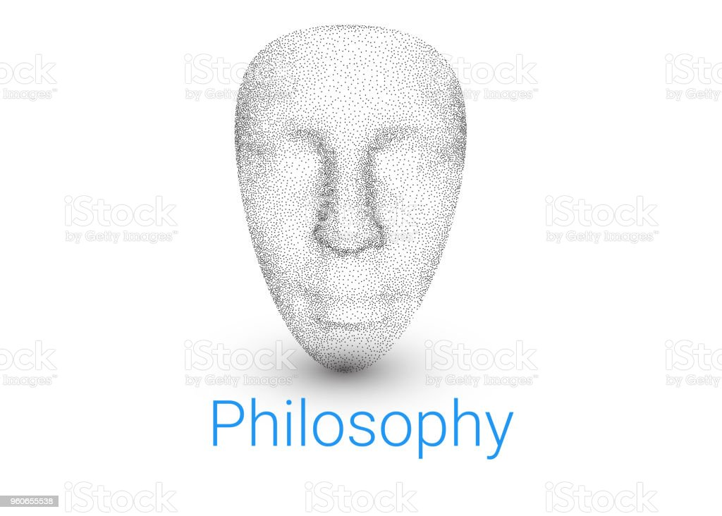 3d Model Of Human Face A Background For A Textbook On