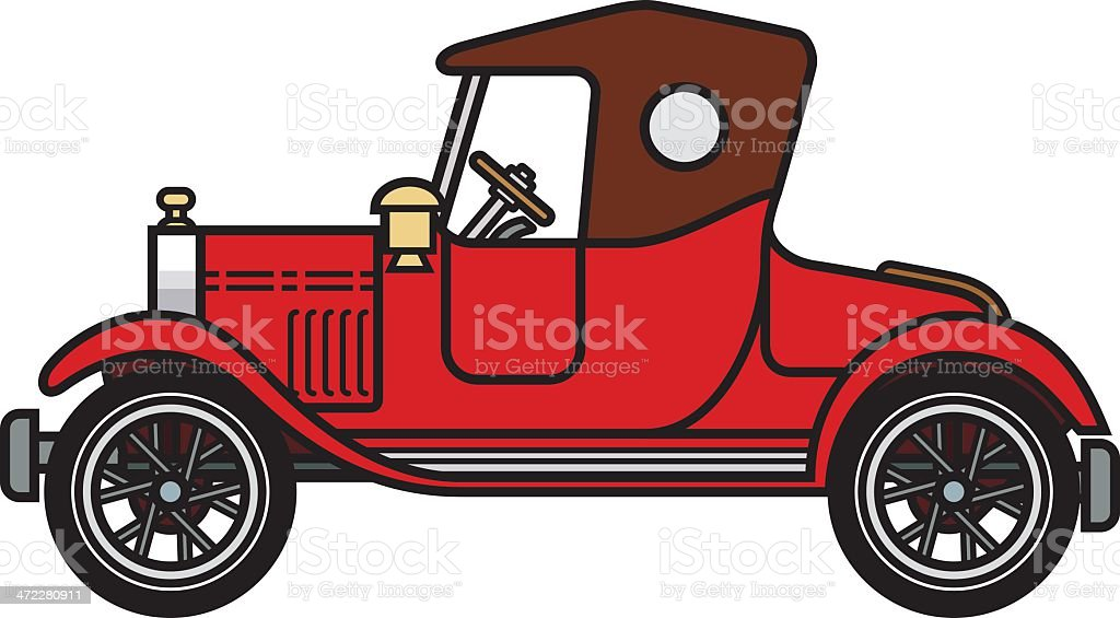 model t stock vector art more images of american culture 472280911 rh istockphoto com car show clipart free