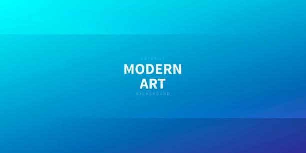 Modern abstract background - Blue gradient vector art illustration