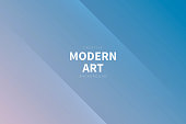 Modern and trendy abstract background with two symmetrical folds diagonally. This illustration can be used for your design, with space for your text (colors used: Pink, Purple, Gray, Blue). Vector Illustration (EPS10, well layered and grouped), wide format (3:2). Easy to edit, manipulate, resize or colorize.