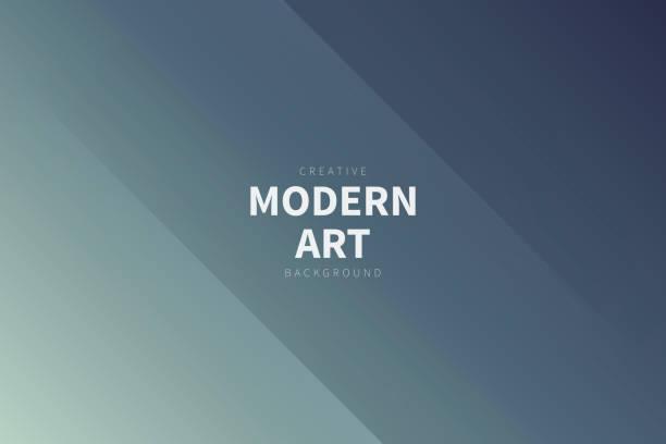 Modern abstract background - Gray gradient vector art illustration
