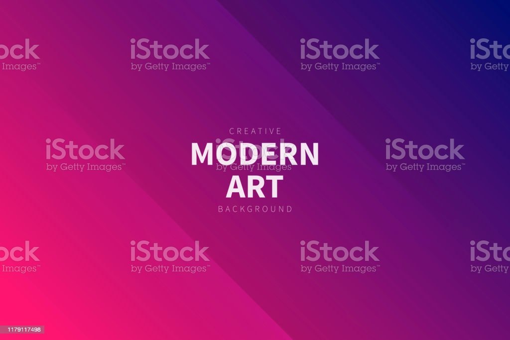 Modern abstract background - Pink gradient - Royalty-free Abstract stock vector