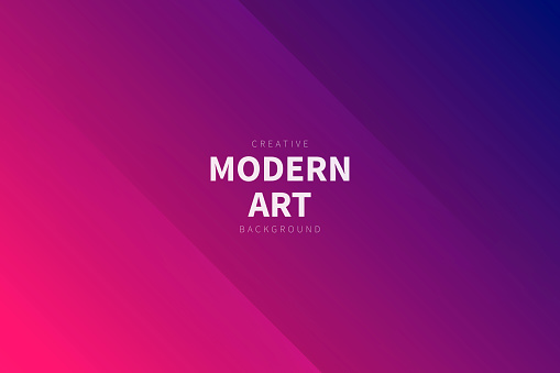 Modern and trendy abstract background with two symmetrical folds diagonally. This illustration can be used for your design, with space for your text (colors used: Red, Pink, Purple, Blue). Vector Illustration (EPS10, well layered and grouped), wide format (3:2). Easy to edit, manipulate, resize or colorize.