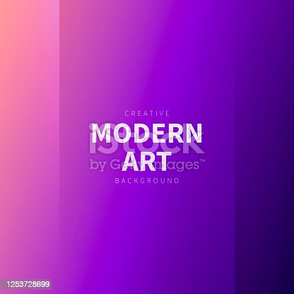 Modern and trendy abstract background with two vertical symmetrical folds. This illustration can be used for your design, with space for your text (colors used: Pink, Purple, Black). Vector Illustration (EPS10, well layered and grouped), format (1:1). Easy to edit, manipulate, resize or colorize.