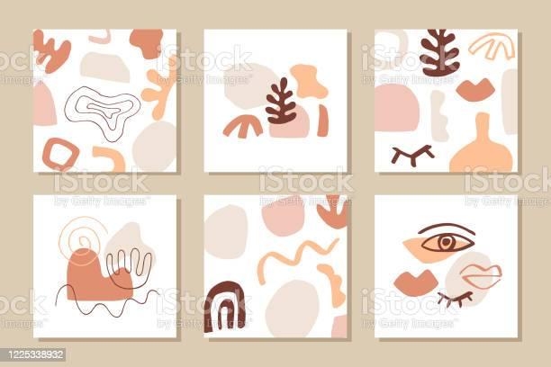 Vetores de Modelos De Capa Abstratamodernos Definidos e mais imagens de Abstrato