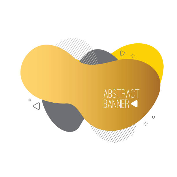 Modern abstract liquid shapes and banners. Fluid design. Isolated gradient geometric lines, dots. Vector Illustration. Vibrant badges. stock illustration Modern abstract liquid shapes and banners. Fluid design. Isolated gradient geometric lines, dots. Vector Illustration. Vibrant badges. stock illustration fractal stock illustrations